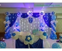 coimbatore -Balloon decorations