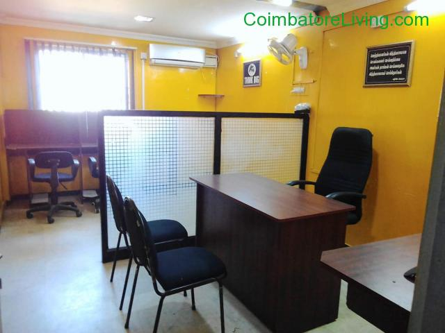 coimbatore - Available fully furnished office for rent in Coimbatore - 1/3