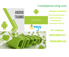 coimbatore - Android App development course training From NGS