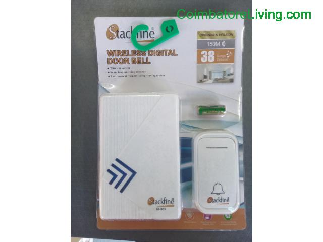 coimbatore - WIRELESS DIGITAL DOOR BELL 9840412448 - 1/1