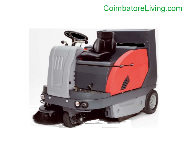 coimbatore - Road Sweeper, Street Sweeper Machine, Road Sweeping Machine India - 1/1
