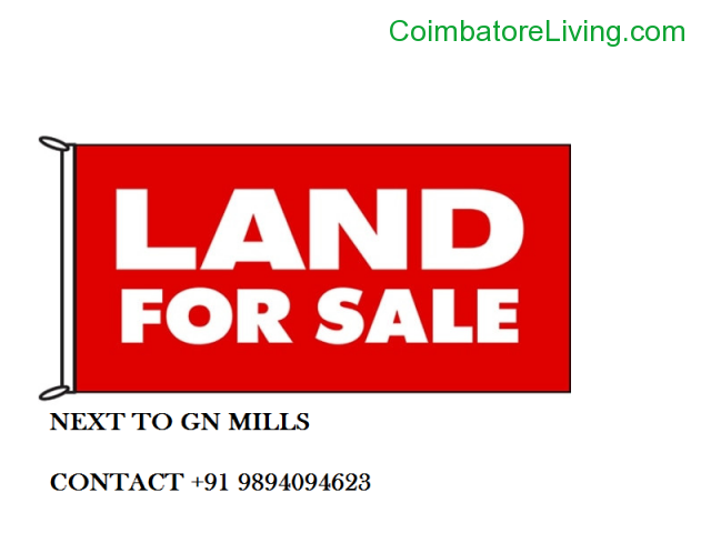 coimbatore - LAND FOR SALE NEXT TO GN MILLS - 1/1