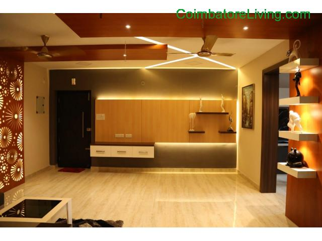coimbatore - 2&3BHK Luxuries Semi Furnished Apartment for sales at Vadavalli - 1/28