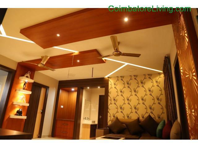 coimbatore - 2&3BHK Luxuries Semi Furnished Apartment for sales at Vadavalli - 2/28