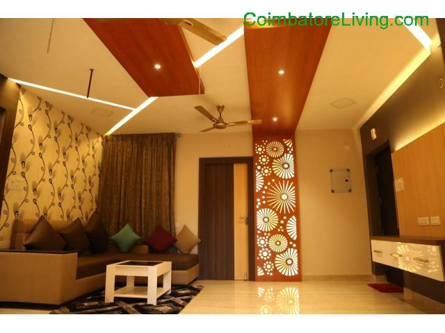 coimbatore - 2&3BHK Luxuries Semi Furnished Apartment for sales at Vadavalli - 3/28