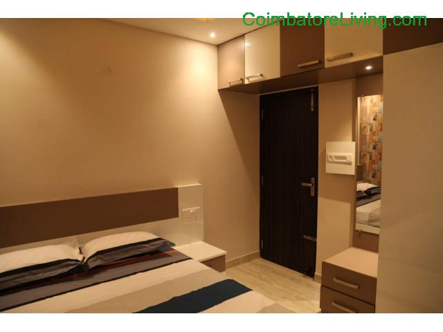 coimbatore - 2&3BHK Luxuries Semi Furnished Apartment for sales at Vadavalli - 13/28