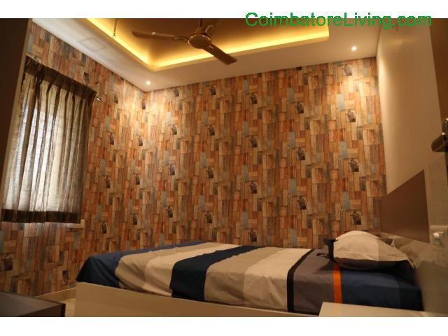 coimbatore - 2&3BHK Luxuries Semi Furnished Apartment for sales at Vadavalli - 16/28