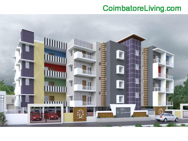 coimbatore - 2&3BHK Luxuries Semi Furnished Apartment for sales at Vadavalli - 26/28