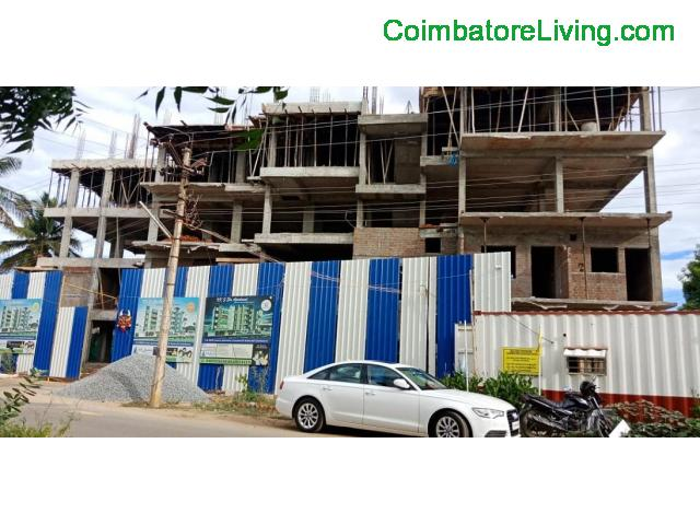 coimbatore - 2&3BHK Luxuries Semi Furnished Apartment for sales at Vadavalli - 28/28