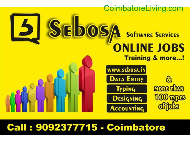 coimbatore - data entry online/offine jobs work in coimbatore - 1/1