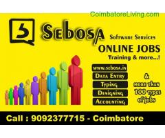 coimbatore -data entry online/offine jobs work in coimbatore