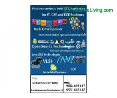 coimbatore - Final year Projects&Internship Training From NGS