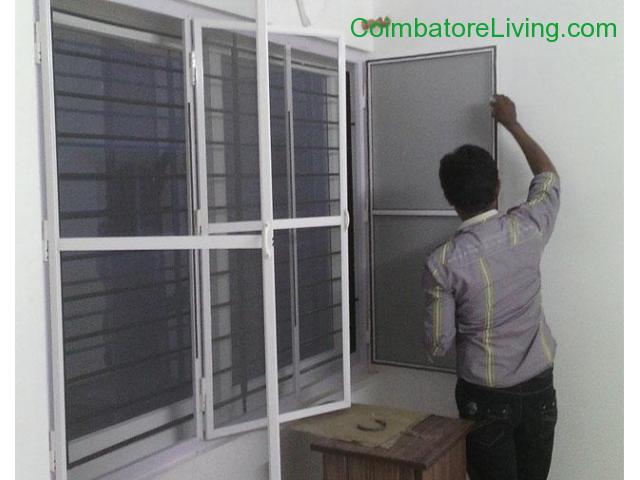 coimbatore - MOSQUITO NET @ INSECT SCREEN NETLON FOR WINDOWS IN COIMBATORE ,MADURAI,TRICHY,KARUR - 8/8