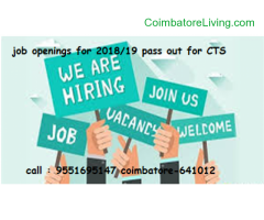coimbatore - Job Openings For 2018/19 pass out for CTS coimbatore - Image 3/3