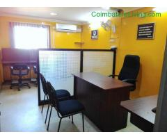 coimbatore - Available fully furnished office for rent in Coimbatore