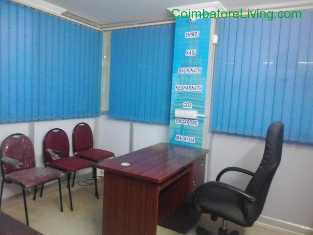 coimbatore - Available fully furnished office for rent in Coimbatore - 2/3