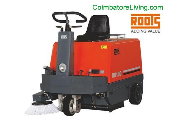 coimbatore - Road Sweepers, Ride on Sweeper, Road Sweeping Machine - 1/1