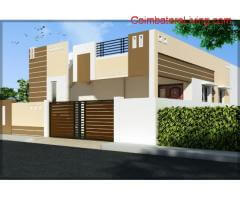 coimbatore - 2BHK individual House for Sale in Ondipudhur - 36 Lakhs
