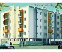 coimbatore -3 BHK flat available for rent near Roots Industries Sanganoor