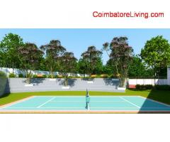 coimbatore - The project is executed near Kalapatti well connected to both Airport road and Sathyamangalam road.