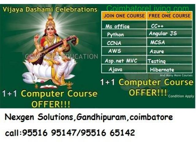 coimbatore - NGS Announces Vijayadasami Offer for Technical courses - 1/1