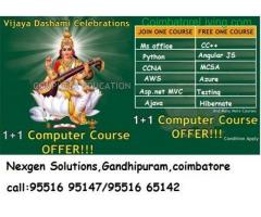coimbatore -NGS Announces Vijayadasami Offer for Technical courses