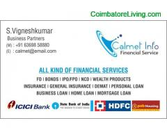coimbatore - Loans and Investment Planing