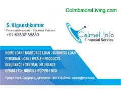 coimbatore - Loans and Investment