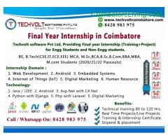 coimbatore -Winter Internship in Coimbatore
