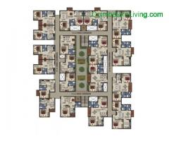 coimbatore - 1 & 2 BHK Apartments-Coimbatore | Flats in Kavundampalayam | Town & City Developers - Image 5/6