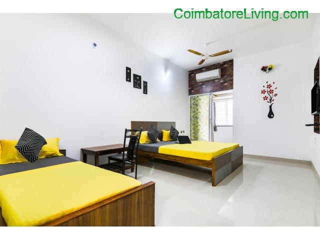coimbatore - Premium Accommodation for Boys, Girls and Couple stay - 3/6