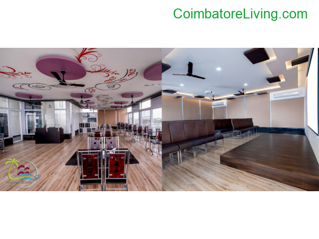 coimbatore - Banquet Hall in Coimbatore, Banquet Halls Coimbatore | Crystal Lake Stay - 3/4