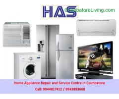 coimbatore -AC, Washing Machine, Fridge Repair in Coimbatore