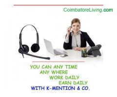 coimbatore -Part time work online ad posting jobs - Data entry job 10000 monthly