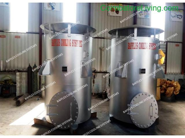 coimbatore - Gas vent silencer manufacturer in India | Baffles Cooling System - 1/1