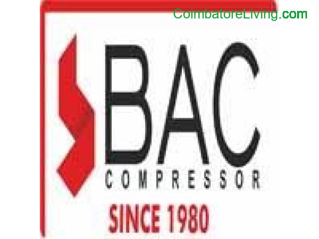 coimbatore - Air compressor manufacturers & suppliers | Coimbatore, India | BAC Compressor - 1/1