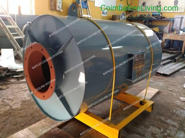 coimbatore - Blower silencer manufacturer in India | Baffles Cooling System - 1/1