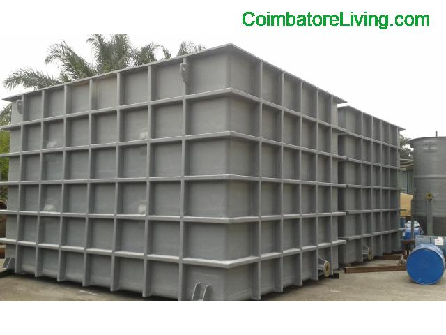 coimbatore - FRP Tank manufacturers square and rectangle shape India - 2/2