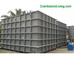 coimbatore - FRP Tank manufacturers square and rectangle shape India